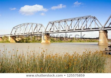 Ponte rio Austrália cidade sul da austrália paisagem Foto stock © THP
