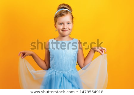 Child pretending to be a princess Stock photo © photography33