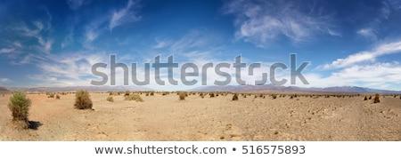 峡谷 · 砂の · 砂漠 · 雲 · 太陽 · 日没 - ストックフォト © billperry