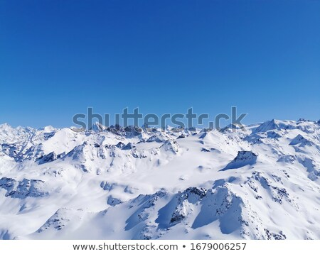 Winter mountain sky Stock photo © hraska