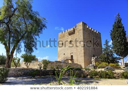 城 · キプロス · 重要 · 砦 · 中世 · 例 - ストックフォト © snapshot
