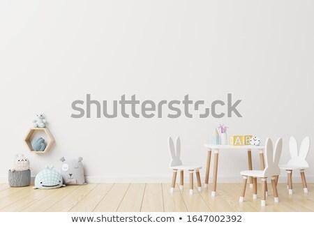 child in playroom stock photo © paha_l