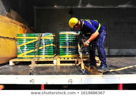 laden · riem · auto · vrachtwagen · vak · industriële - stockfoto © lianem