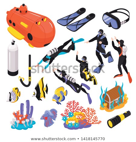 divers on the seabed Stock photo © thomaseder