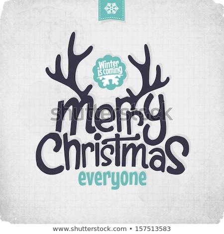 グランジ クリスマス バナー 4 赤 バナー ストックフォト © WaD