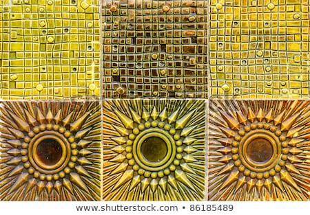 Сток-фото: Vintage · глина · плитка · бесшовный · текстуры · 3D
