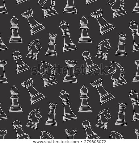 チェス インテリアデザイン 図書 デザイン ストックフォト © elenapro