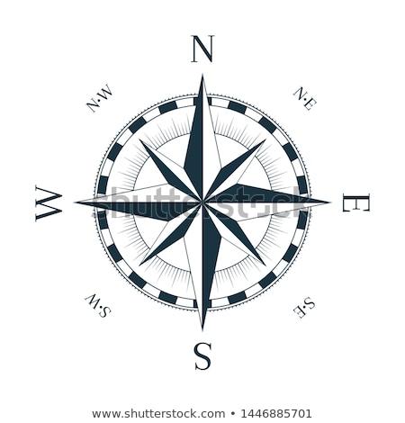 Compass Windrose            Stock photo © oblachko