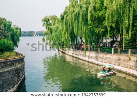 Tekne kanal yaz saray Pekin Çin Stok fotoğraf © billperry