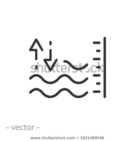 Volume controllo indicatore icona bianco internet Foto d'archivio © tkacchuk