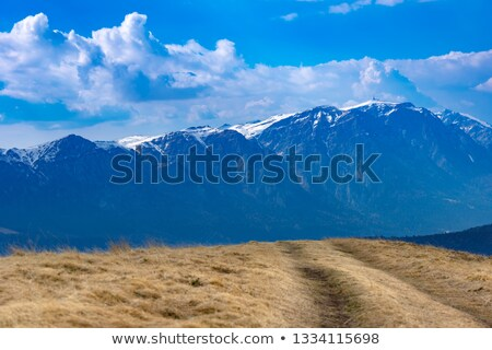 Stock photo: Majestic Bucegi mountains