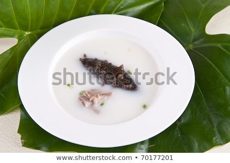 Tenger korty tyúkhúsleves Kína finom étel Stock fotó © wxin