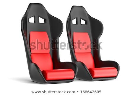 sport racing auto car seat stock photo © ozaiachin