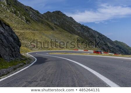 Famous Transfagarasan mountain winding road Stock photo © pixachi