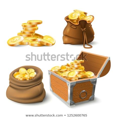 économies trésor financière richesse ouvrir mer Photo stock © Lightsource