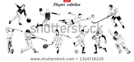 rugby · oyuncu · top · spor · tren - stok fotoğraf © patrimonio