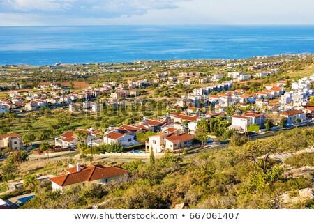 Geleneksel Kıbrıs köy bölge ev doğa Stok fotoğraf © Kirill_M