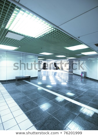 escalator staircase and exit to light stock photo © stevanovicigor