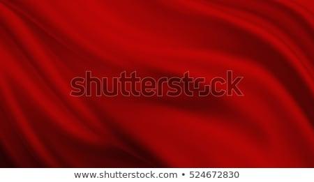 Stockfoto: Rood · Open · touw · elegante · fase · gordijnen