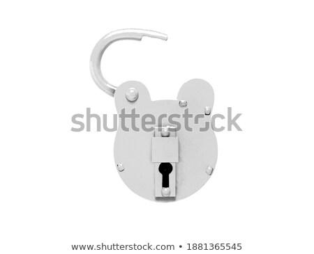 old lock in unlocked state Stock photo © shutswis