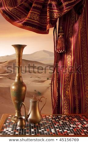 cucina · alimentare · disegno · arab · Medio · Oriente - foto d'archivio © galyna