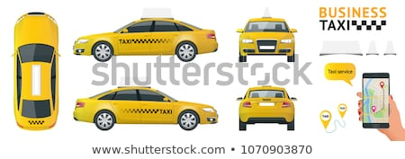 Buttons with taxi cabs Stock photo © bluering