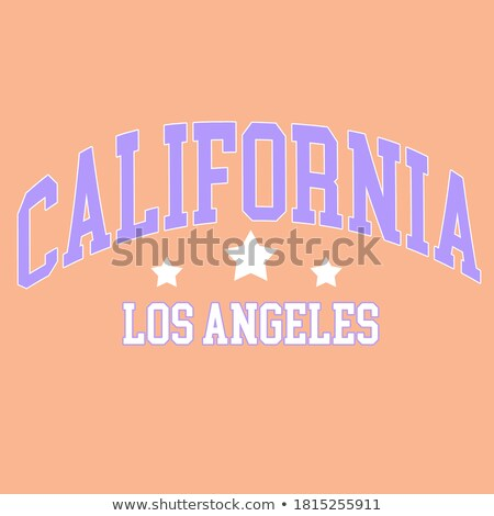 Skyline · Los · Angeles · detaillierte · Illustration · Kalifornien · Business - stock foto © vector1st