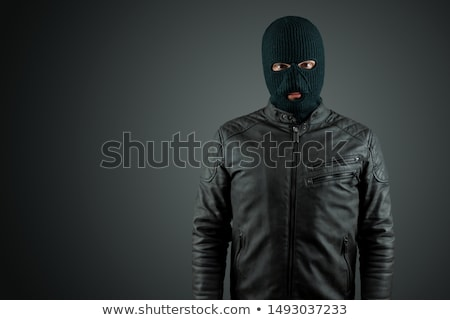 A male robber Stock photo © bluering