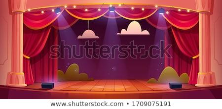 scene stage stock photo © zurijeta