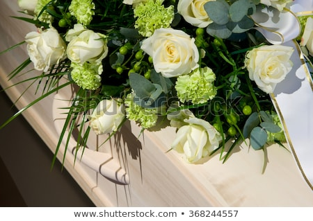 Funeral flowers Stock photo © hamik