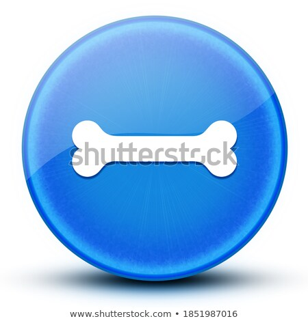 leg joint in the round blue shape stock photo © tefi