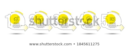 Auteursrecht target pistool zicht symbool witte Stockfoto © drizzd