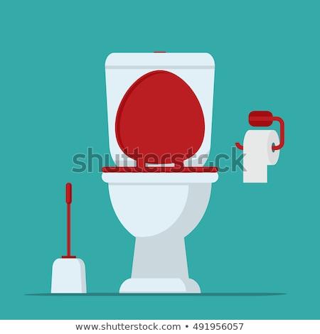 rioolwater · toilet · kom · riool · vector · water - stockfoto © biv