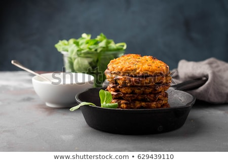 potato fritters stock photo © yelenayemchuk