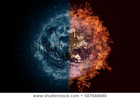 planety · pluton · ognia · wody · scifi - zdjęcia stock © nasa_images