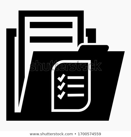Folder in Catalog Marked as Inventory. Stock photo © tashatuvango