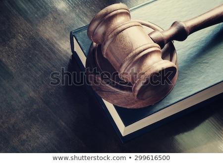 Ley solución jurídica ideas juicio símbolo Foto stock © Lightsource