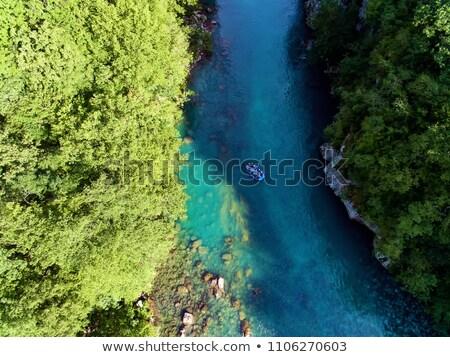 Stock fotó: Vadvizi · evezés · fölött · illusztráció · tenger · óceán · folyó