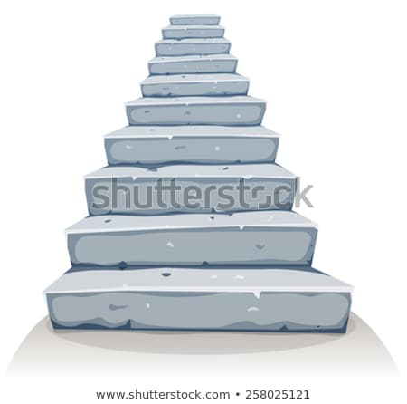 Stairs in a rock  Stock photo © wildman