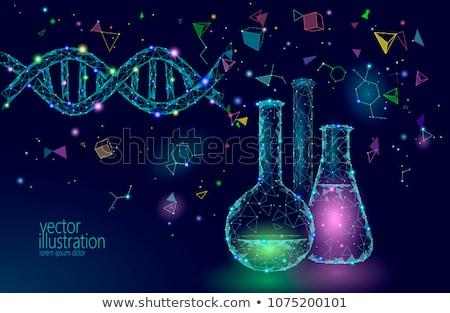 gène · génie · vecteur · métaphore · génétique · laboratoire - photo stock © rastudio