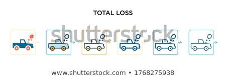 Vector Personal Cars Set in Six Colors. Stock photo © tashatuvango