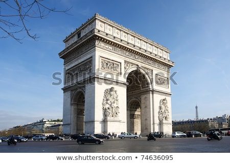 Famous french landmark Stock photo © jossdiim