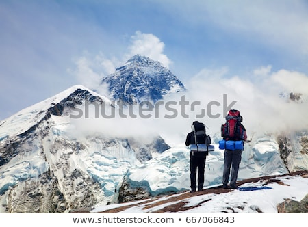 Mt Everest Base Camp Stock photo © THP