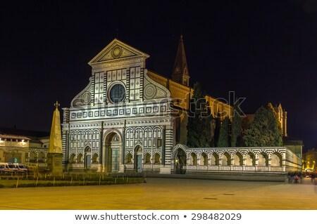 バシリカ サンタクロース フィレンツェ イタリア 教会 ストックフォト © borisb17