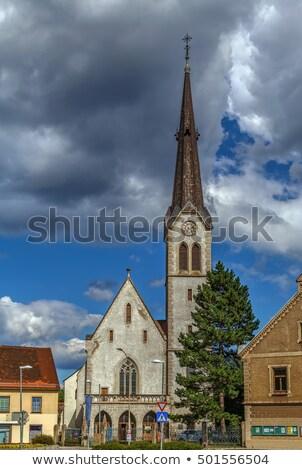 Church of Maria am Waasen, Leoben, Austria Stock photo © borisb17