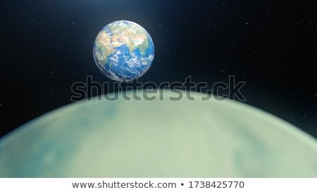 Photo stock: Espace · exploration · astronaute · image · fond