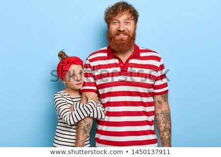 Horizontal portrait affectueux famille temps libre ensemble Photo stock © vkstudio