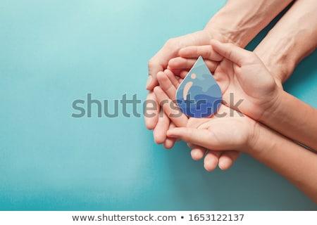 清浄水 結晶 水 画像 抽象的な 波 ストックフォト © SimpleFoto