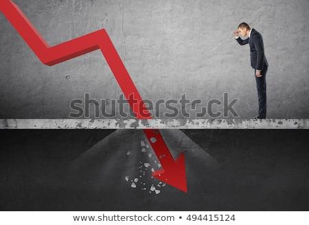 business regression Stock photo © vichie81