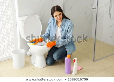cara · limpieza · mujer · médico · belleza - foto stock © smithore
